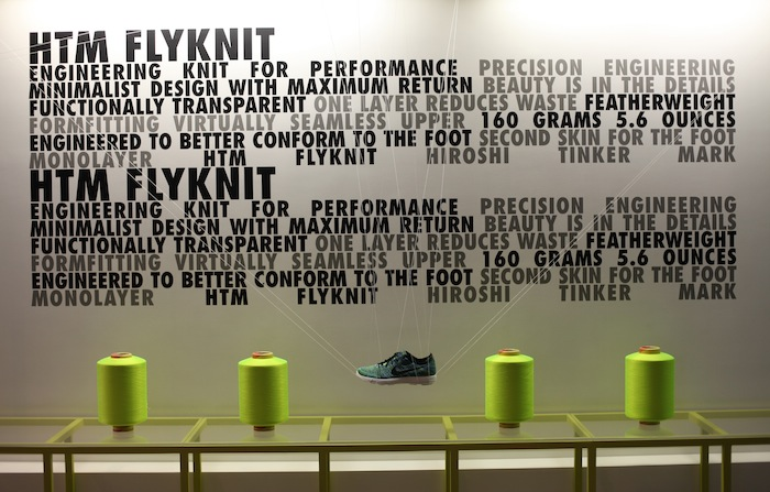 Nike présentait ...