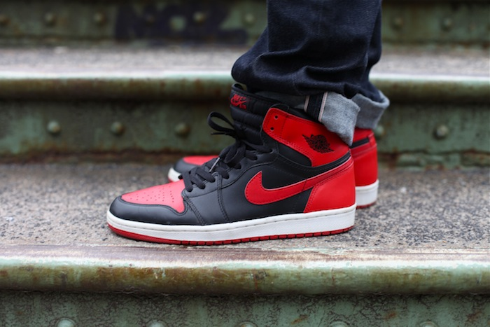0a0480bee627 air jordan 1 bred 2001
