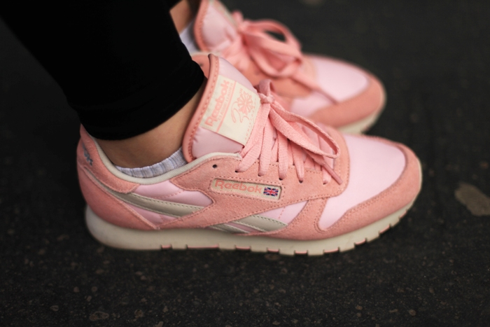 reebok classic leather vintage rose