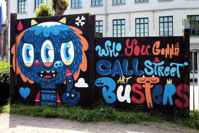 buethewarrior street art gand8