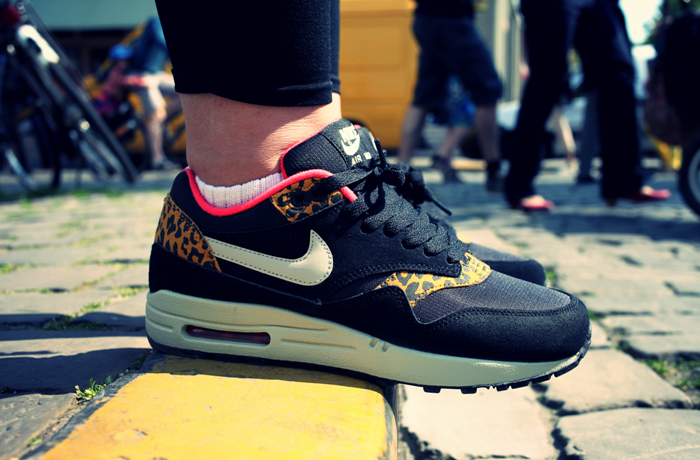 sneakers air max 1 leopard13