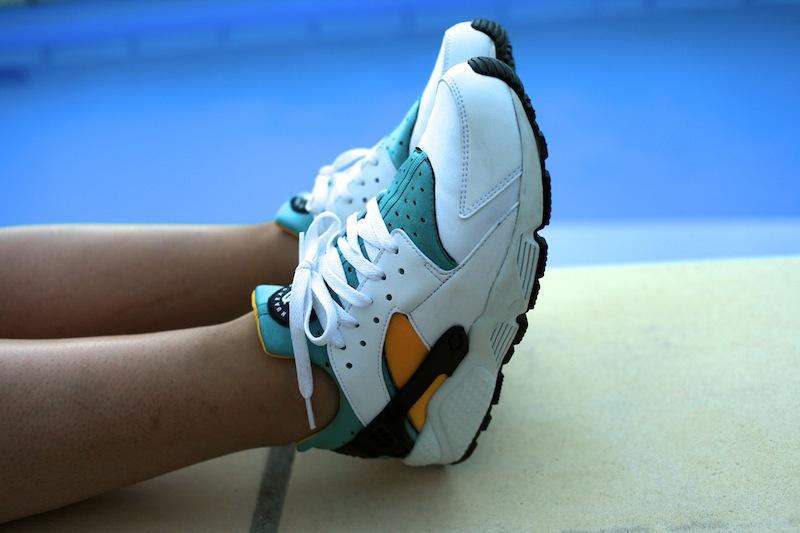 nike huarache vintage sneakers uglymely 1