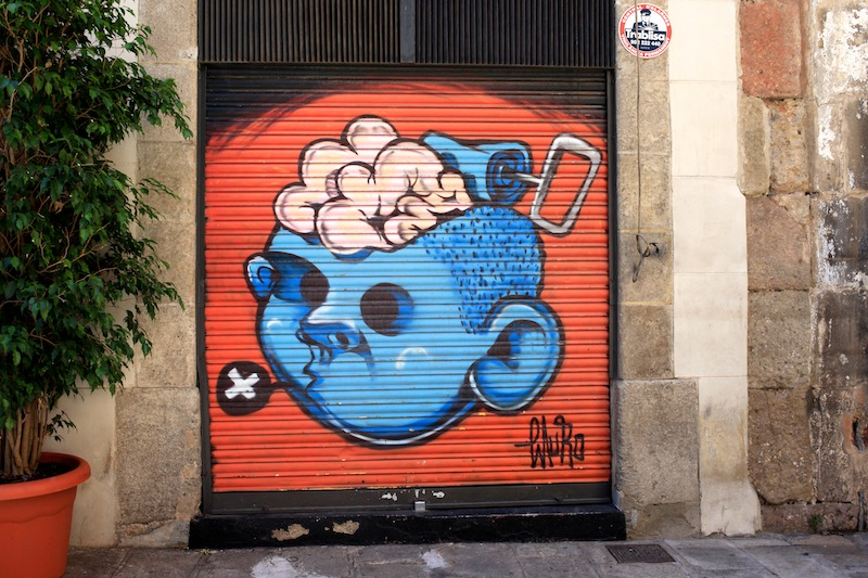 street art barcelone summer holidays 2