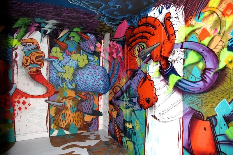 tour paris 13 galerie itinerance street art uglymely 13