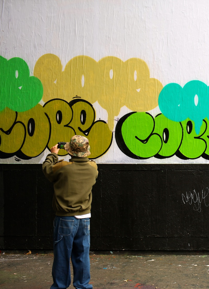 COP2 LE MUR GALERIE MATHGOTH PARIS STREET ART é