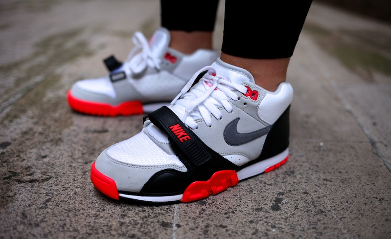air trainer 1 infrared uglymely sneakers street. Black Bedroom Furniture Sets. Home Design Ideas