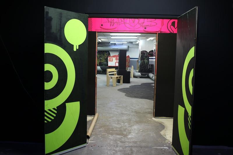 la manufacture 111 street art uglymely