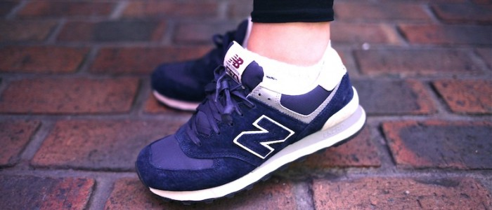 sneakers new balance 574 navy uglymely