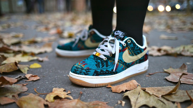 nike air force 1 iD pendleton uglymely