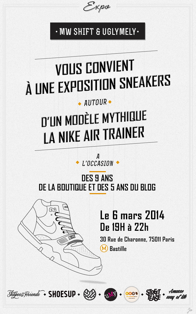 nike air trainer exposition paris