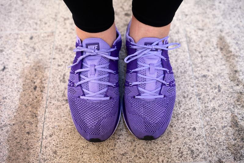 nike flyknit trainer purple uglymely. 1