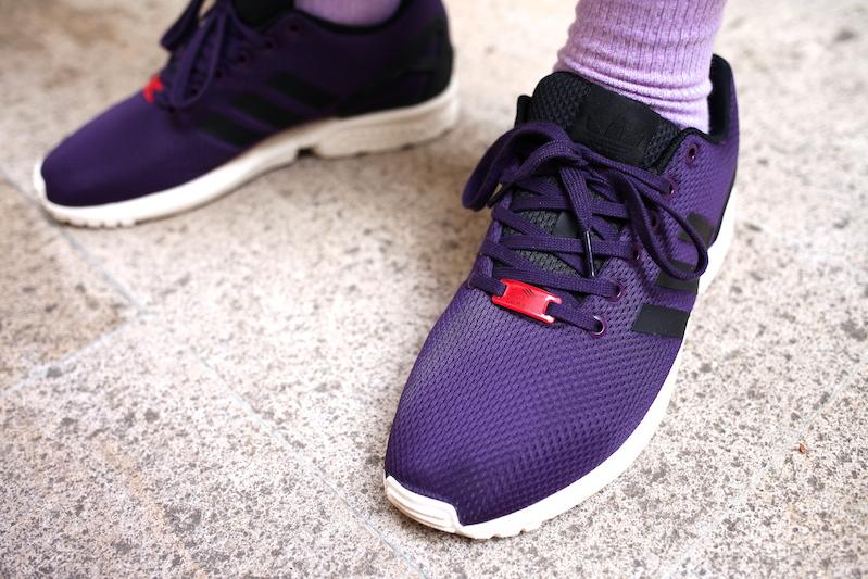 sneakers adidas zx flux purple uglymely 2