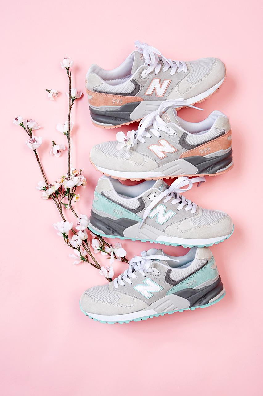 new balance rose korean