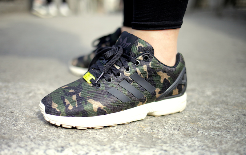 sneakers adidas zx flux camo footlocker uglymely 2 ...