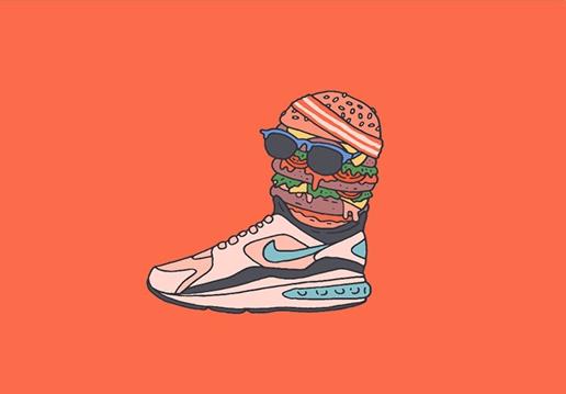 Illustrations Uglymely Sneakers Street Culture Bike Travel