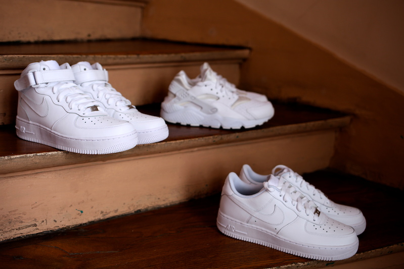 nike air white collection uglymely footlocker