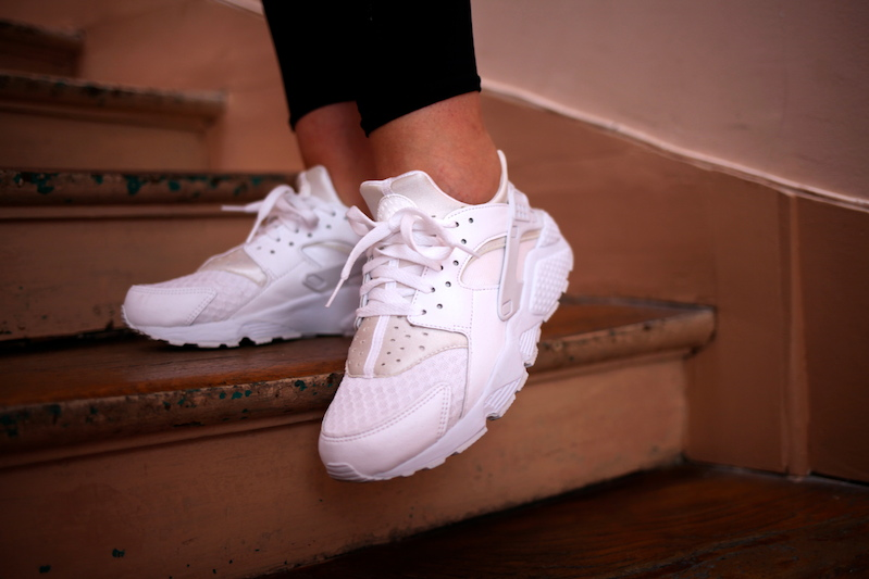 nike huarache triple white collection footlocker uglymely 1