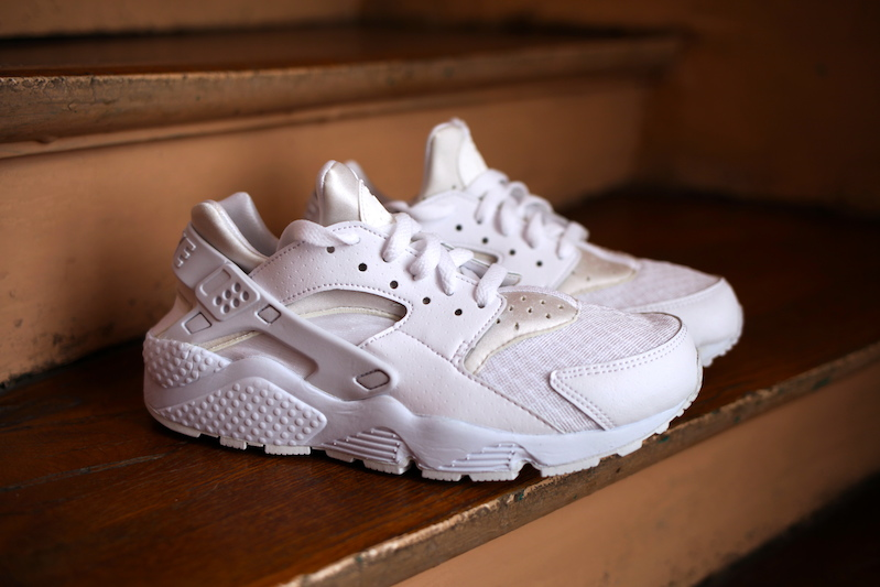 nike huarache white collection footlocker uglymely