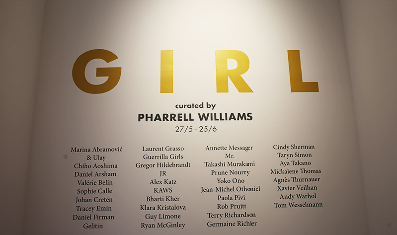 pharell williams girl exposition galerie perrotin uglymely