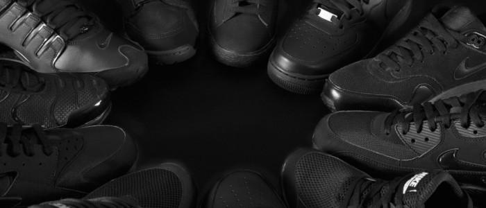 Foot Locker Triple Black
