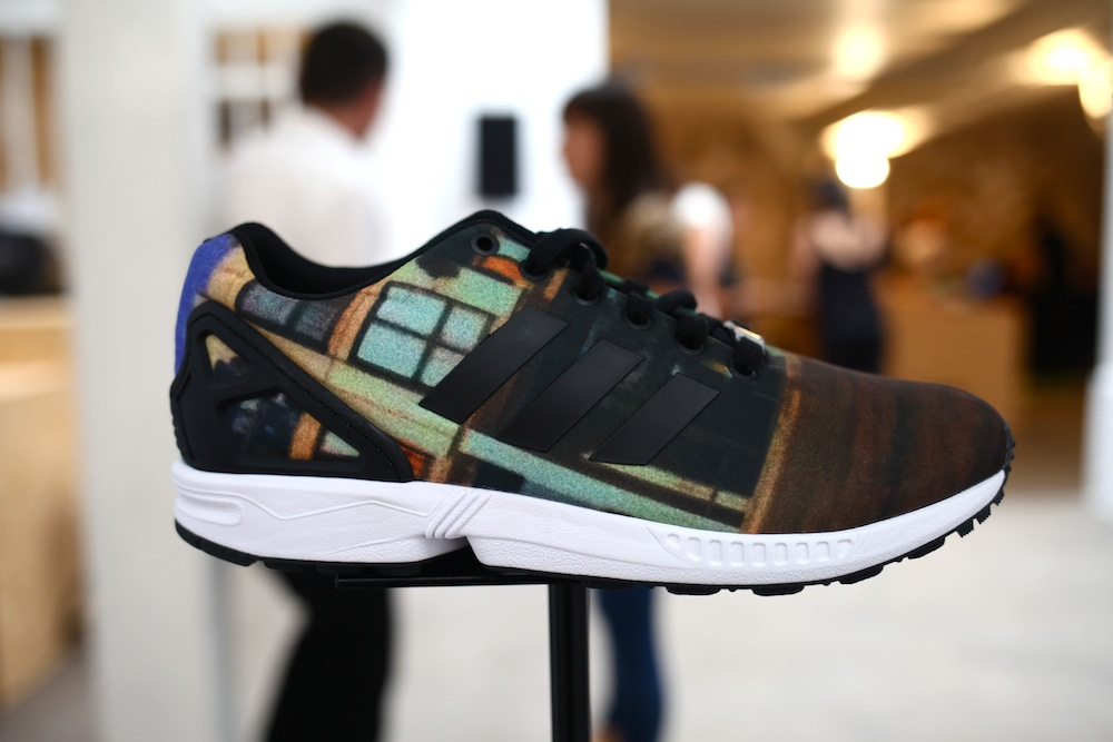 adidas house of zxflux uglymely sneakers