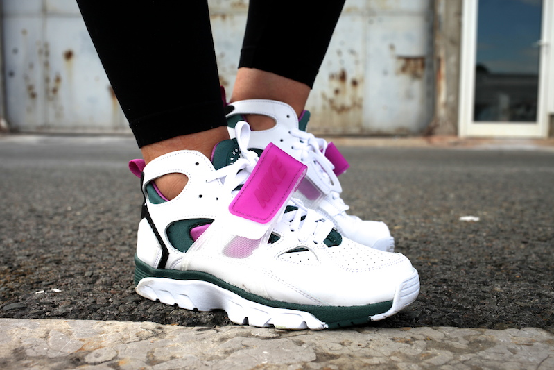 nike air trainer huarache emerald uglymely 2
