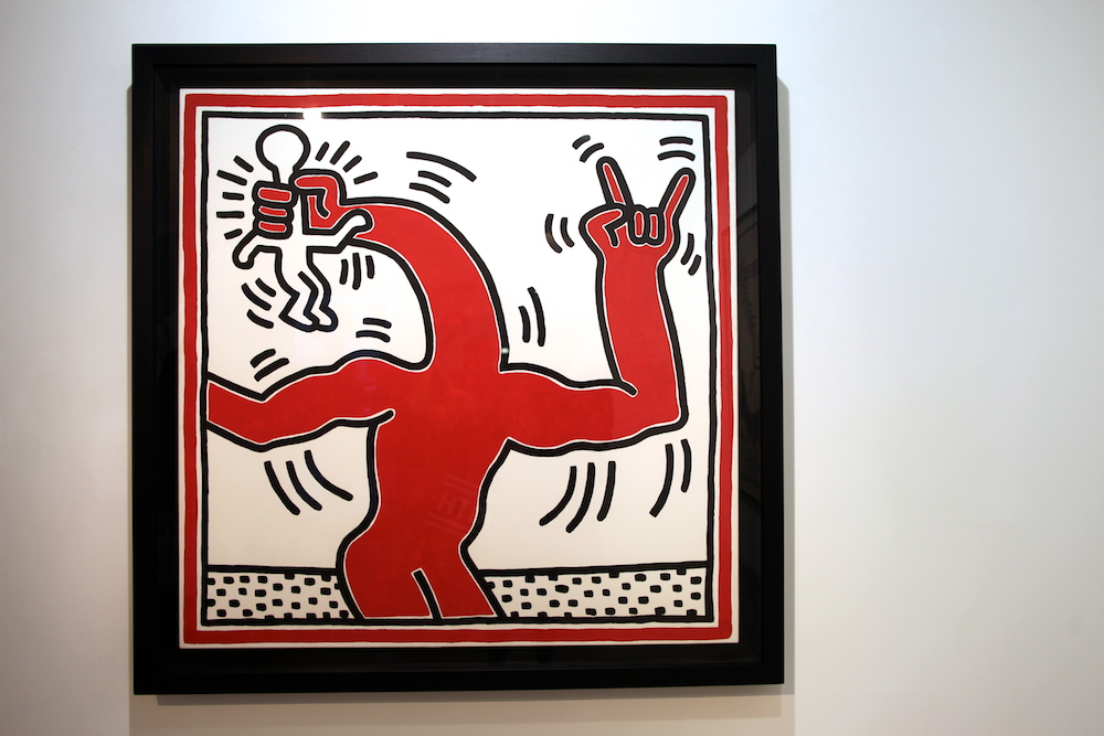 Keith haring laurent strouk uglymely 15