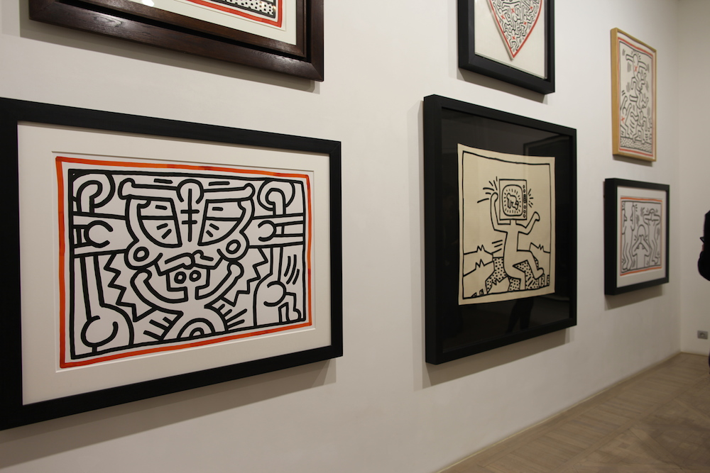 Keith haring laurent strouk uglymely 9