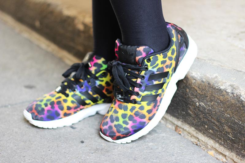 Adidas Original ZX flux leopard
