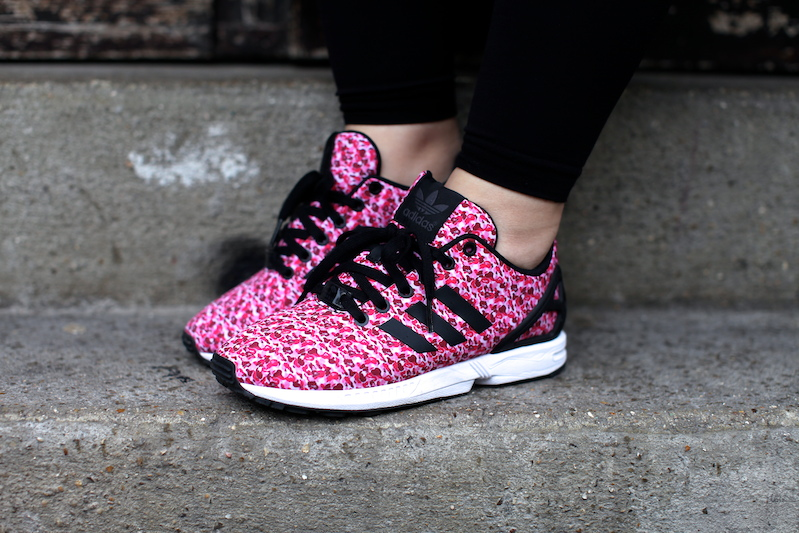 adidas mizxflux zxflux bape  camo pink uglymely