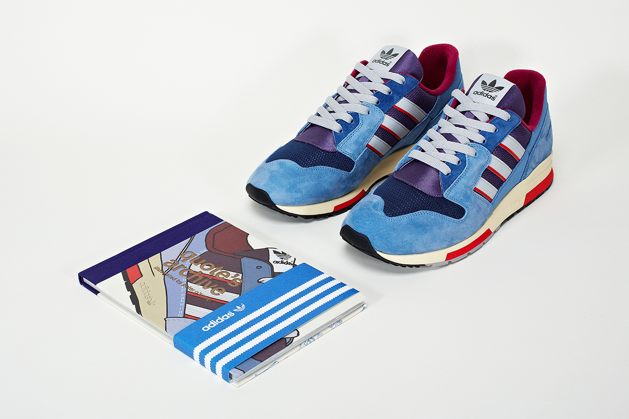 """Quote x Peter O'Toole x adidas Consortium ZX 420 """"Quotool"""