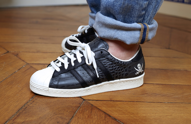Cheap Adidas SUPERSTAR 80S METAL TOE W Hvid S76540 Rezet Store