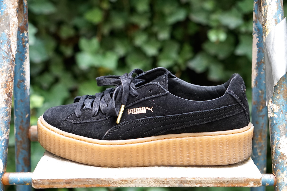 puma creepers blanche courir